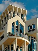 Modern building in Tel Aviv, Israel