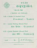 19.03.1964 All Ireland Junior Football Final