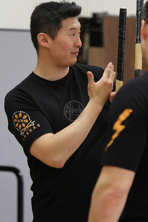 Leskas Arnis seminar with Master Jon Escuerdo of Lightning Scientific Arnis Filipino Martial Arts.