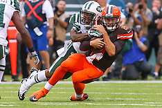 September 13, 2015: Cleveland Browns at New York Jets