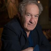 British writer Simon Schama photographed in London.