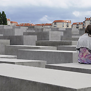 Memorial to the Murdered Jews of Europe in Berlin, Germany