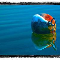 Buoy floating in Stein am Rhein