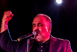 LOS ANGELES, California/USA (Thursday October 10 2013) - Latin music legend Willie Colon blew the top of the Conga Room in Los Angeles. Fans danced to many of his classics until the early hours. 10th October 2013.  Fees must be agreed for image use. Byline, credit, TV usage, web usage or linkback must read: SILVEXPHOTO.COM.