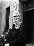 Barrister Mr John Kenny called to the Bar. 06/03/1958