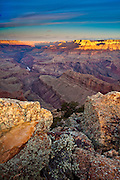 Sunrise from Lipan Point. South Rim, Grand Canyon National Park.