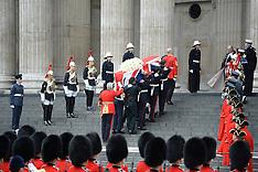 APR 17 2013 Baroness Thatcher Funeral
