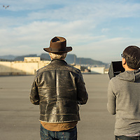 Tested.com / Adam Savage / Inspire 1 at Hunter's Point, Jan 26, 2015