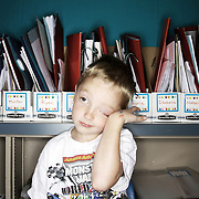 Cameron Gish. Casey Brennan's kindergarten class at Hopkins Elementary School in Sherwood on Wednesday, May 23, 2012.