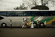 Street vendors in Abidjan, Ivory Coast. 30/08/2013 Photo Tiago Miranda/4SEE NO SALES IN PORTUGAL