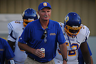 Oxford High coach Johnny Hill vs. Charleston in Charleston, Miss. on Friday, August 26, 2011. Oxford won.