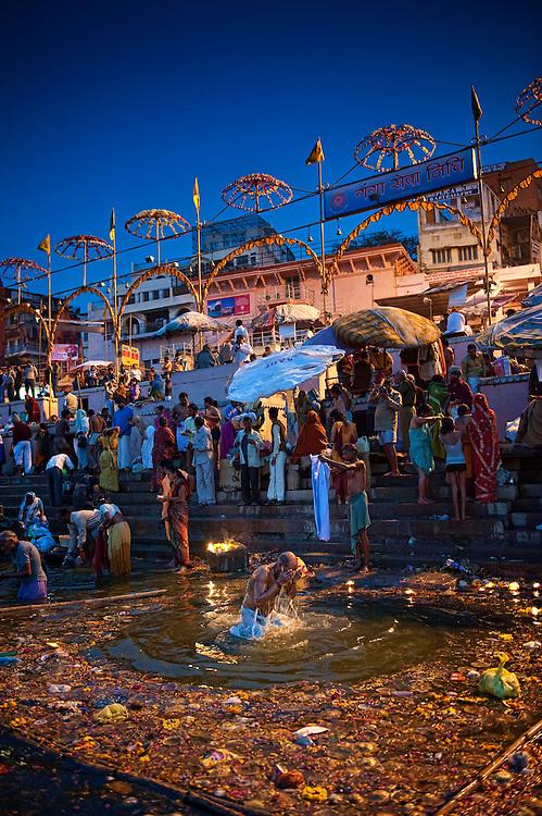 Asia, India, Varanasi, Shivaratri, Ganga, Gange