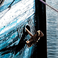 Anchor ship in Norway