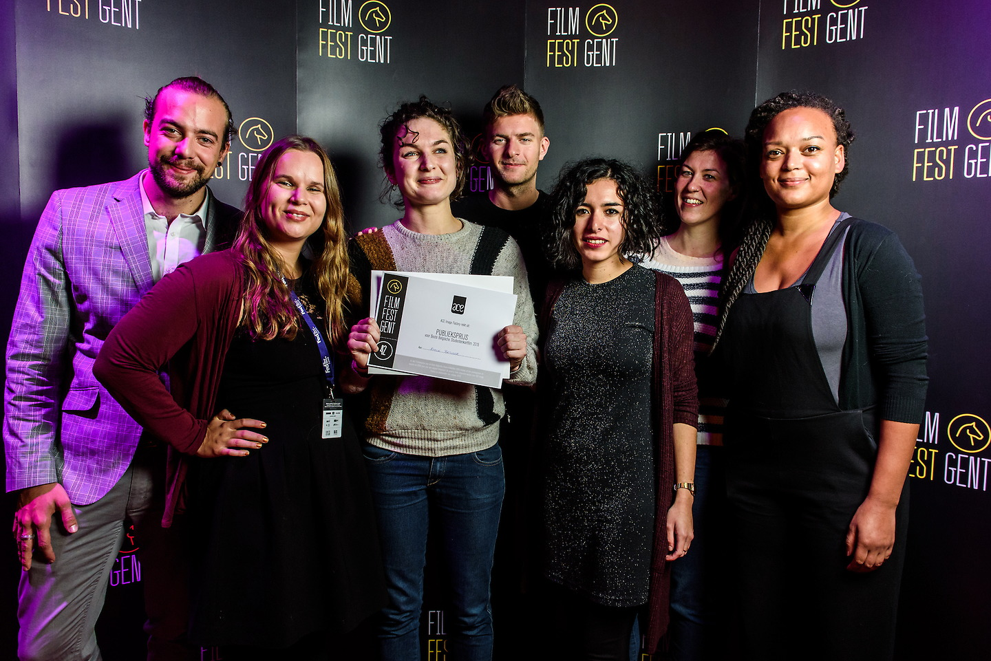 Film Fest Gent - Ace Image Factory Public Choice Award (18-10-2015)
