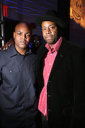 "Harve Pierre and Dana Dane at "" The P. Diddy presents Bad Boy Entertainment Night "" at Spotlight NYC featuring performances by Cherri Dennis and Vanity Kane on January 29, 2008"