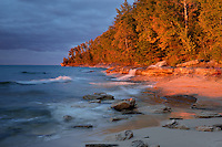Miners Beach<br /> Pictured Rocks National Lakeshore