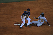 Mississippi's Kevin Mort (6) forces out Murray State's Cory Hodskins in college baseball action at Oxford-University Stadium in Oxford, Miss. on Tuesday, April 27, 2010.