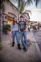 Friends Arianna Fox and Gabe Duncan at The Father's House in Vacaville, CA. during Clark and Mitzi's move from Anchorage, Alaska to Calistoga, California, September, 2015  arimf67@icloud.com