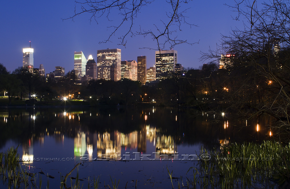 Manhattan in twilight