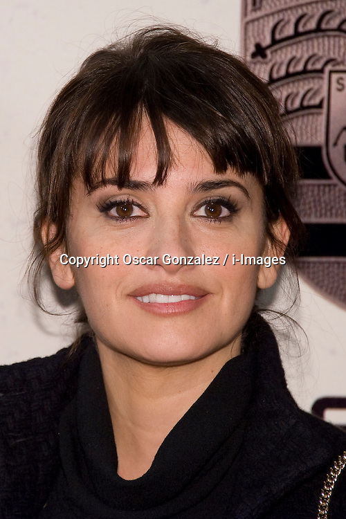 """Actress Penelope Cruz attends  Premiere to promote her new film """"Volver a Nacer"""". (Venuto al mondo ). Actress Penelope Cruz wears  a Channel Vintage, Madrid, Spain, January 10, 2013. Photo by Oscar Gonzalez / i-Images...SPAIN OUT"""
