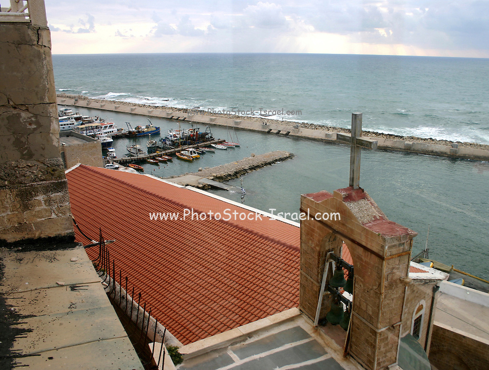 Old Jaffa port - A view from a church, Jaffa, Israel