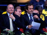FIFA World Cup - France 1998.Joseph S. Blatter & Michel Platini.©Juha Tamminen