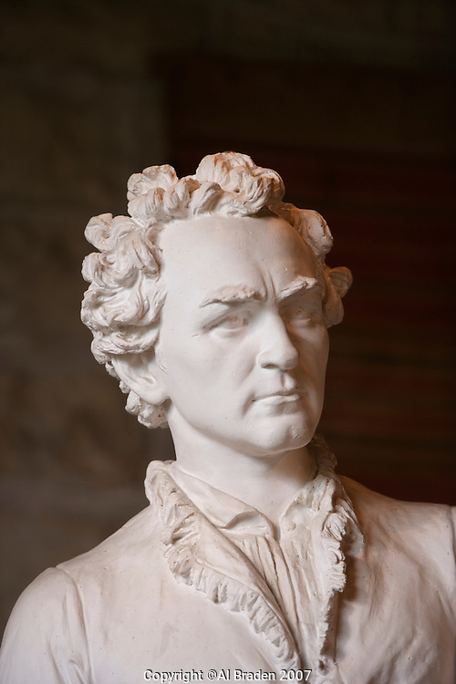 Stephen F. Austin Sculpture at Elizabet Ney Museum, Austin, Texas