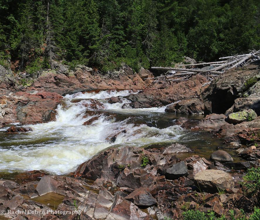 &quot;At Chippewa Falls&quot; <br /> <br /> Beautiful Chippewa Falls in Ontario Canada.