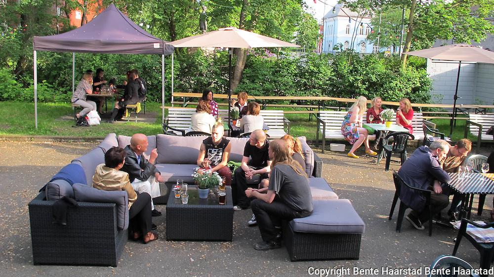 Café Ni Muser var en sentral uteplass for svært mange på 1980-tallet.