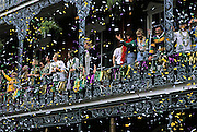 Nature, Travel Photographer and Landscape Photography from Randy Wells, Image of Mardi Gras celebration in the French Quarter of New Orleans, Louisiana, American South