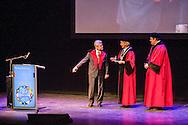 7-2-2017 MAASTRICHT - Prinses Beatrix der Nederlanden is op dinsdagmiddag 7 februari in Maastricht aanwezig bij de uitreiking van een eredoctoraat aan Bondspresident Joachim Gauck van Duitsland. De uitreiking vindt plaats tijdens de Dies van de Universiteit Maastricht. Copyright ROBIN UTRECHT<br /> 7-2-2017 MAASTRICHT - Princess Beatrix of the Netherlands on Tuesday February 7 in Maastricht at the presentation of an honorary doctorate to Federal President Joachim Gauck of Germany. The award ceremony will take place during the Dies at Maastricht University. Copyright ROBIN UTRECHT