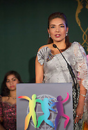 Phymean Noun, Cambodia was commended by the World&rsquo;s Children&rsquo;s Prize 2015 for her thirteen-year struggle for the children who scavenge garbage dumps in Cambodia, and their right to education. Her award was presented during the World&rsquo;s Children&rsquo;s Prize Ceremony 2015, at Gripsholms Castle in Mariefred, by H.R.M. Queen Silvia of Sweden and the World&rsquo; Children&rsquo;s Prize Child Jury. Photo: Sofia Marcetic/World's Children's Prize<br /> <br /> Since the year 2000, the World&rsquo;s Children&rsquo;s Prize program has educated and empowered over 38 million children. It&rsquo;s the world&rsquo;s largest annual educational initiative for equality, the rights of the child and democracy. The program is run annually in schools worldwide. Each year, three out&not;standing child rights heroes are selected by the Child Jury as candidates for the World&rsquo;s Children&rsquo;s Prize for the Rights of the Child.  The three candidates are then presented to the world&rsquo;s children through  the WCP magazine The Globe, video, web and social media. Tens of thousands of volunteers and organisations help to implement the WCP program every year, including at least 50,000 teachers and over a hundred organisations, social enterprises and departments of education. Over 67,000 schools in 113 countries have signed up for the WCP.<br />     The WCP program concludes with an annual Global Vote in which millions of children vote to elect their child rights hero of the Year. The majority of children who participate are vulnerable, such as former child soldiers and child slaves. Three global legends have got behind the WCP as patrons: Nelson Mandela, Aung San Suu Kyi, and Xanana Gusm&atilde;o. Other patrons include H.M. Queen Silvia of Sweden, Gra&ccedil;a Machel and Desmond Tutu.<br />    The WCP program was founded in the year 2000 and is run by Swedish non-profit the World&rsquo;s Children&rsquo;s Prize Foundation (WCPF). The WCPF receives funding from several bodies including the Swedish Postcode Lottery, Sida (the Swedish International Development Cooperatio