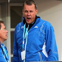 10.9.2011, Olympiastadion, Helsinki..Suomi - Ruotsi yleisurheilumaaottelu. .Suomen Urheiluliiton valmennusjohtaja Jarmo Mkel.