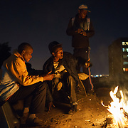 """Nyaope"" drug addicts gather nightly in ""Highrise Park"" on the edge of Hillbrow, an inner-city Johannesburg neighbourhood with a notorious reputation.  A crude form of heroin reputedly cut with anything from anti-retrovirals to rat poison to pool cleaner, nyaope is either injected or smoked with a mixture of cannabis and tobacco. The drug is cheap (about R20/ $1.70 per ""round"") and devastatingly addictive - it produces a brief high, but then leaves the user with vicious withdrawal symptoms, constantly searching for the next high."