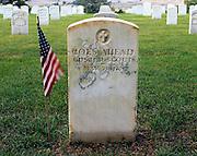 AA02272-02...MONTANA - Custer National Cementery at Little Bighorn Battlefield National Monument.