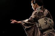 Kimono designer's Jotaro Saito's ffashion show at Tokyo Midtown Hall A. Tokyo 25 March 2009