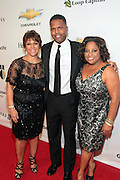 November 2, 2012- New York, NY: (L-R) Linda Johnson Rice, Chair, Johnson Publishing Company, On-Air Personality AJ Calloway and On-Air Personality Sherri Shepherd at the Ebony Power 100 Gala Presented by Nationwide held at Jazz at Lincoln Center on November 2, 2012 in New York City. The EBONY Power 100 Gala Presented by Nationwide salutes the country's most influential African Americans. (Terrence Jennings)