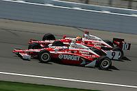 Scott Dixon, Dan Wheldon, Kansas Lottery Indy 300, Kansas Speedway, Kansas City, KS USA 7/2/2006