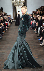 FEB 14 2013 Ralph Lauren show at New York Fashion Week A/W 13