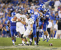 University of Kentucky football takes on Kent State in Lexington, Ky. on 9/9/12. Photo by David Stephenson