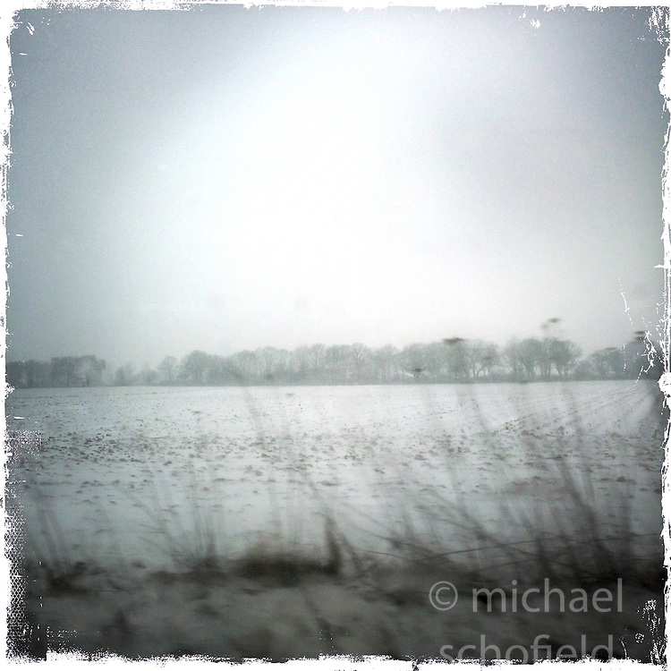 iPhone 5 images taken on the autobahn between Weeze Airport and Hanover, Germany..iPhone5 images using the Hipstamatic photo app..©Michael Schofield.