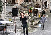 Saint Paul village, France.