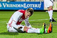 AMSTERDAM - Jong Ajax - FC Eindhoven , Voetbal , Jupiler league , Seizoen 2016/2017 , Sportpark de Toekomst , 24-02-2017 , Jong Ajax speler Kaj Sierhuis baalt van gemiste kans