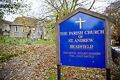 NOV 25 2013 Church where Catherine the Duchess of Cambridge was Christened