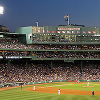 This is the ultimate gift and office, lobby, home or studio decoration for Red Sox Nation and the die hard Red Sox fans. Red Sox Nation at Boston Fenway Park cheering for pitcher Jon Lester on his way to a no-hitter. Boston Fenway Park is considered the jewel of American ballparks and the oldest ballpark in America, now in its 104th year. The romance began in 1912 when a century of jubilation and heartbreak began.<br />