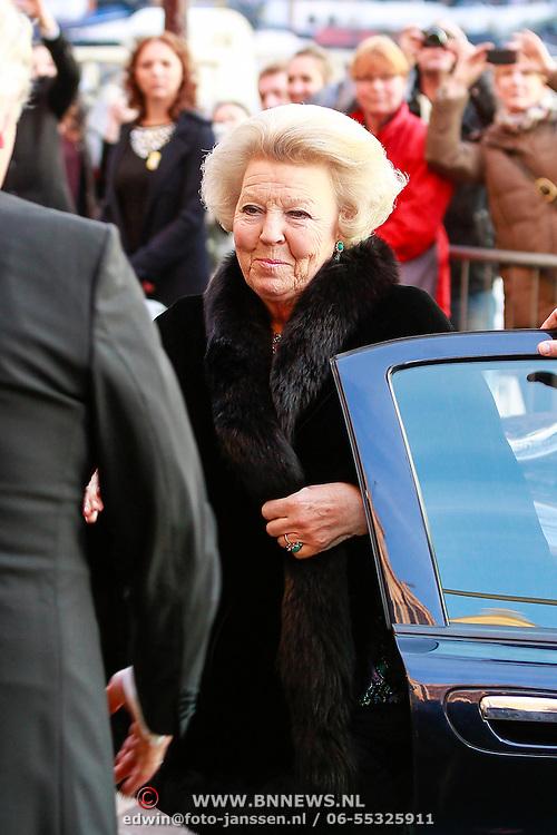 NLD/Amsterdam /20130403 - 125 jarig jubileum Carre, H.K.H. Koningin Beatrix