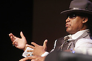 """October 20, 2012-New York, NY: Hip Hop Living Legend Grand Master Melle Mel at From Beat Street to These Streets: Hip Hop Then and Now panel discussion and special screening of """" Beat Street"""" co-hosted by the Schomburg Center, the Tribeca Youth Screening Series & Belafonte Enterprises and held at The Schomburg Center on October 20, 2012 in Harlem, New York City  (Terrence Jennings)"""