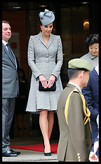 OCT 21 2-14 Duchess of Cambridge first public appearance since pregnancy