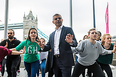2016-05-19 Mayor Sadiq Khan in Big Dance photocall