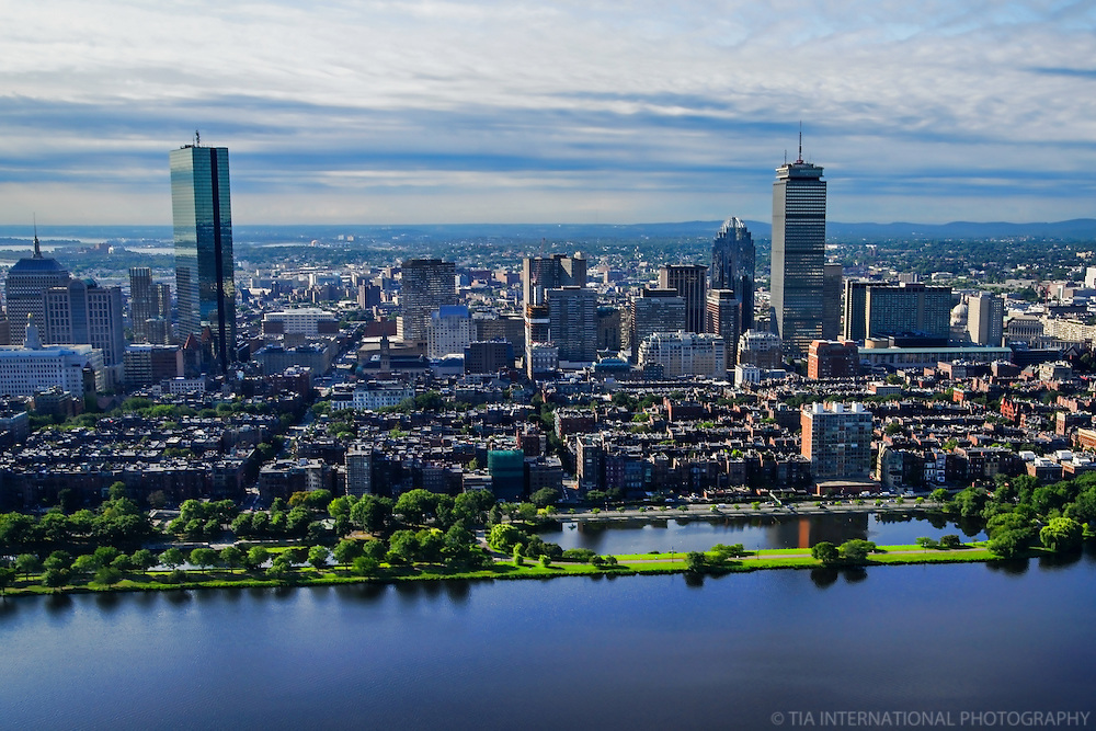 Back Bay Skyline & Charles River Esplanade